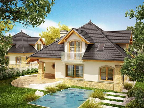 Projekt domu Rosa  - widok 4