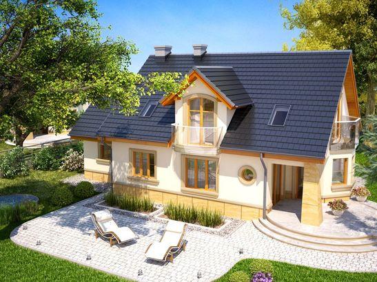 Projekt domu Szmaragd - widok 4
