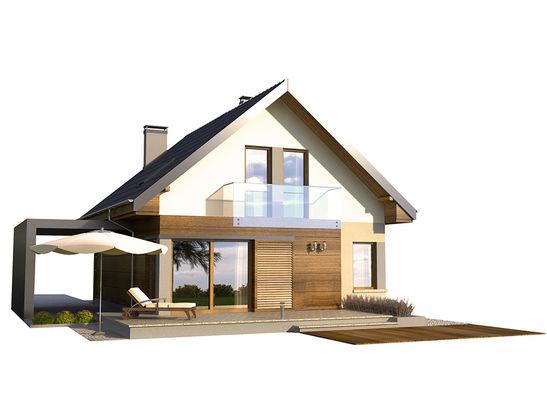 Projekt domu De Facto - widok 3