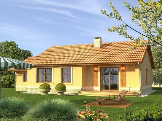 Projekt domu Figaro - widok 2