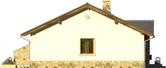 Projekt domu Limeryk - elewacja boczna 1