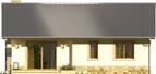 Projekt domu Limeryk - elewacja tylna