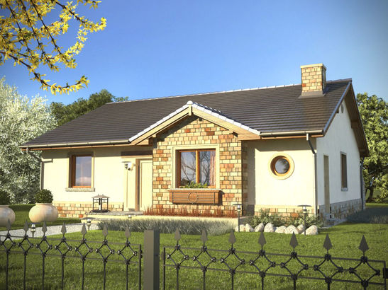 Projekt domu Limeryk - widok 1