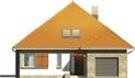 Projekt domu Abstrakcja S - elewacja przednia
