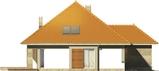 Projekt domu Abstrakcja S - elewacja boczna 1