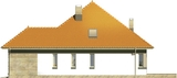 Projekt domu Abstrakcja S - elewacja boczna 2