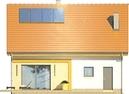 Projekt domu Iskra - elewacja tylna