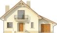Projekt domu Esencja - elewacja przednia