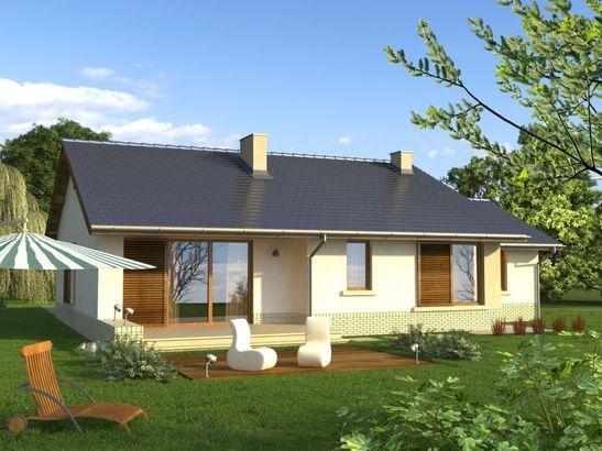 Projekt domu Flamenco 2G - widok 2