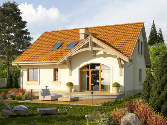 Projekt domu Lapis 2  - widok 1