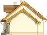 Projekt domu Orzech - elewacja boczna 2