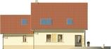 Projekt domu Piano 2G - elewacja tylna