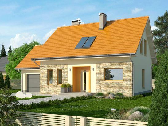 Projekt domu Gradient - widok 3