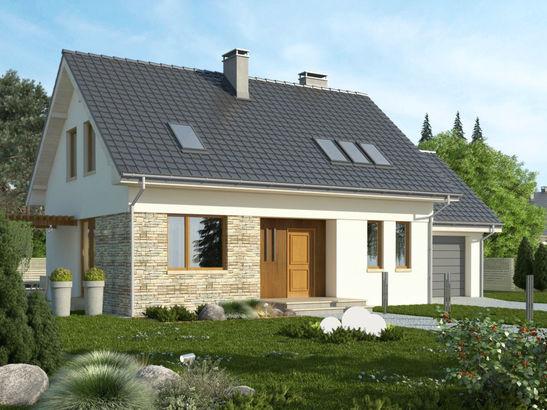 Projekt domu Ideal - widok 2