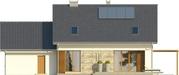 Projekt domu Ideal 2G - elewacja tylna
