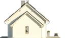 Projekt domu Ideal 2G - elewacja boczna 2