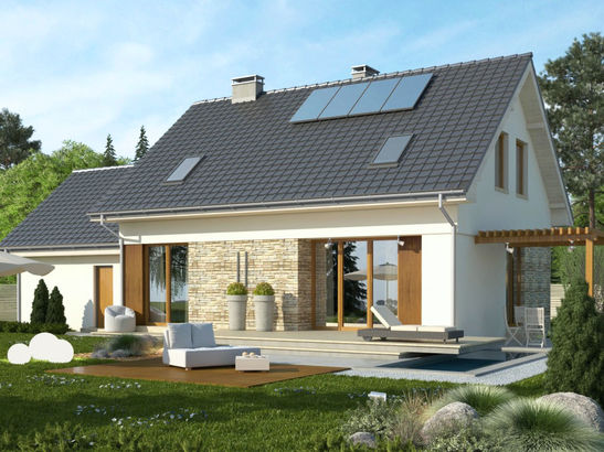 Projekt domu Ideal 2G - widok 2
