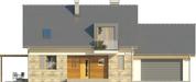 Projekt domu Umbria 2 2G - elewacja przednia