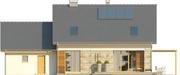 Projekt domu Umbria 2 2G - elewacja tylna