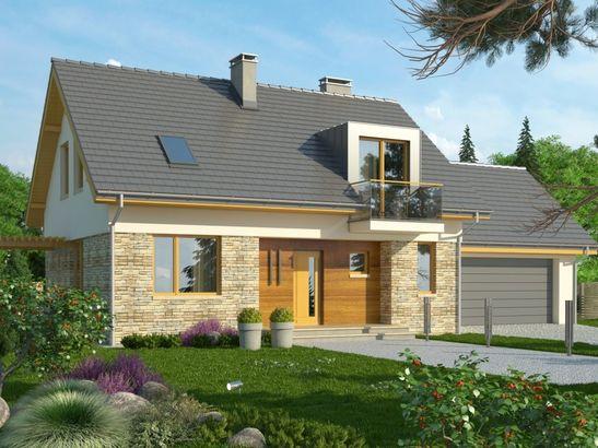 Projekt domu Umbria 2 2G - widok 2