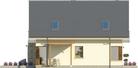 Projekt domu Maestro - elewacja boczna 1