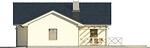 Projekt domu Euforia - elewacja boczna 2