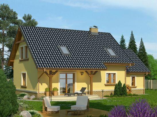 Projekt domu Granat - widok 2