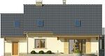 Projekt domu Aroma 2 - elewacja tylna