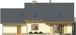 Projekt domu Aroma 2 2G - elewacja tylna