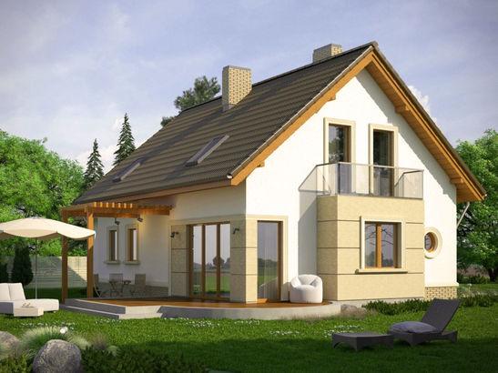 Projekt domu Enklawa 2 - widok 2