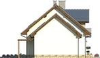 Projekt domu Estyma 2 - elewacja boczna 2