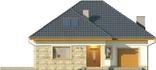 Projekt domu Amalfi 2 - elewacja przednia