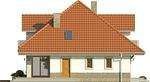 Projekt domu Amfilada 2 - elewacja boczna 2