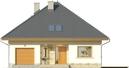 Projekt domu Malaga 2 - elewacja przednia