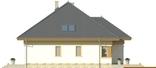 Projekt domu Malaga 2 - elewacja boczna 1