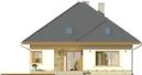 Projekt domu Malaga 2 - elewacja tylna
