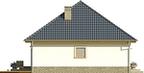 Projekt domu Kamyczek 2 - elewacja boczna 2