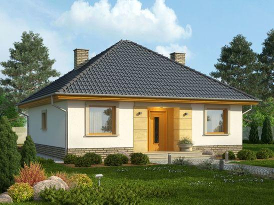 Projekt domu Kamyczek 2 - widok 1
