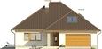 Projekt domu Melodia 2 - elewacja przednia