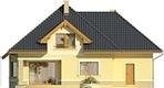 Projekt domu Mokka 2 - elewacja tylna