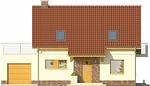 Projekt domu Wasabi - elewacja przednia