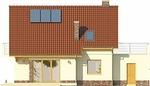Projekt domu Wasabi - elewacja tylna