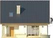 Projekt domu Nowela 3 - elewacja tylna