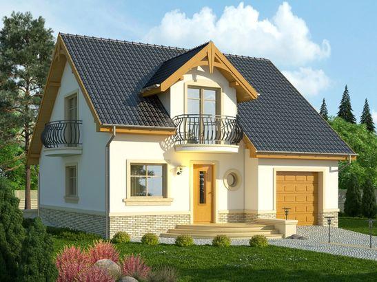 Projekt domu Nowela 3 - widok 1