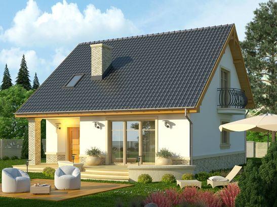 Projekt domu Nowela 3 - widok 2