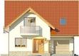Projekt domu Bella 4 - elewacja przednia