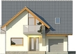 Projekt domu Bella 6 - elewacja przednia