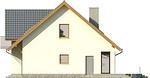 Projekt domu Bella 6 - elewacja boczna 2