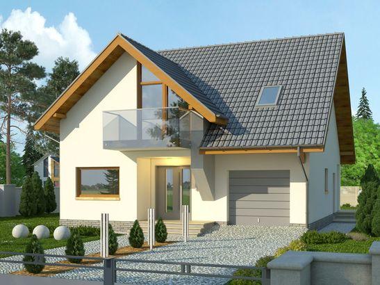Projekt domu Bella 6 - widok 2