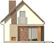 Projekt domu Tarot 2  - elewacja tylna